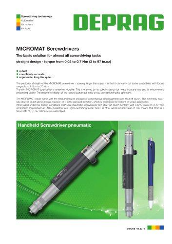 MICROMAT Control Screwdrivers