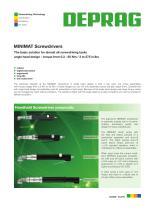 MINIMAT Screwdrivers angle head design - 1