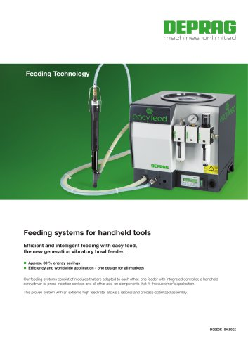 Screw feeding systems for handheld screwdrivers