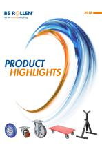 Product highlights 2018