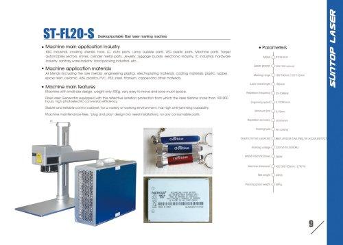 SUNTOP/Desktop(portable) fiber laser marking machine