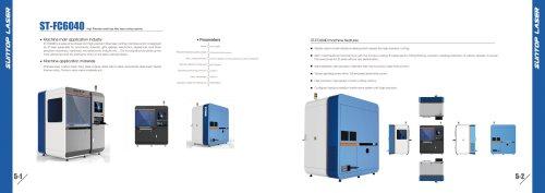 SUNTOP/High precision small size fiber laser cutting machine