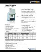 Chamber Furnaces Dental PLF Series