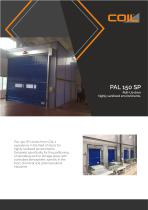 Roll-Up doors Clean Room COIL PAL 150 SP