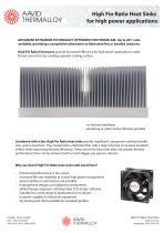 High Fin Ratio Power Extrusions