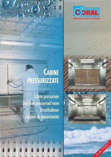Dust free pressurised room