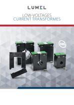 LoW-VoLtaGes Current transformes