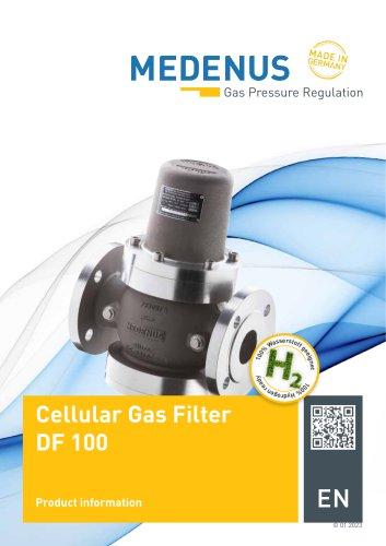 brochure cellular gas filter DF100