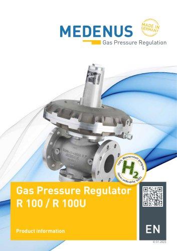 Gas pressure regulator R 100 / R 100U