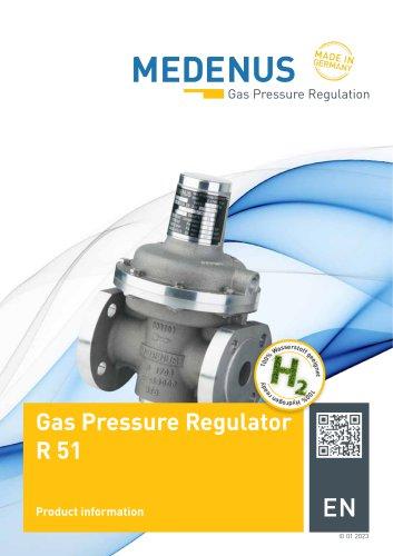 Gas Pressure Regulator R51