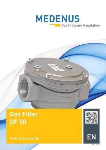 Gasfilter DF50