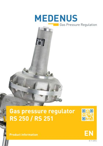 product leaflet RS250/251