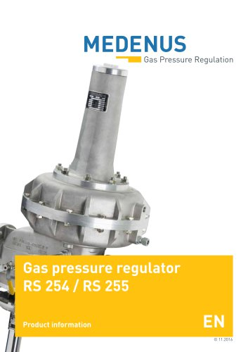 product leaflet RS254/255