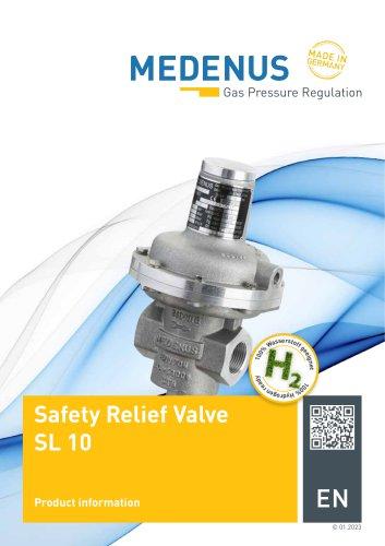 Safety relief valve - SL 10