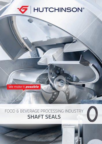 Shaft seals for Food&Beverage Processing