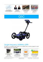 Q5C single frequency 500MHz GPR