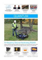Tri-frequency Quantum radar