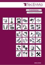 TecEnMa Produkt catalogue 2015/2016