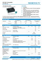 1.2W, Fixed input voltage, non-isolated & regulate single output DC/DC converter - 1