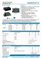 15W/25W Medical AC/DC Converter LH25-20BxxMU Series - 1
