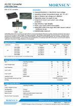 60W, AC-DC converter LHE60-20Bxx Series - 1
