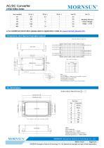 60W, AC-DC converter LHE60-20Bxx Series - 5