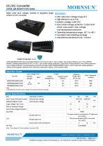 75-200W 18-75V Ultra-wide Input Voltage URF48_QB-200WR3 Series - 1