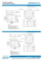 75-200W 18-75V Ultra-wide Input Voltage URF48_QB-200WR3 Series - 6
