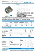 AC/DC 50W Enclosed Switching Power Supply - 1