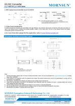 B_LS-1WR2 / 1watt DC-DC converter / Single output - 5