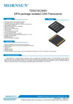 CAN / 485 /232 bus interface  TD041SCANH - 1