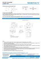 CF0505XT-1WR2 / 1watt DC-DC converter / automotive industry - 3