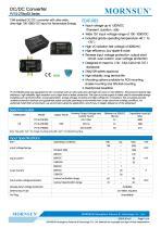 DC/DC Converter for photovoltaic PV15-27BxxR3 - 1