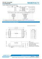 DC/DC Converter for photovoltaic PV15-27BxxR3 - 4