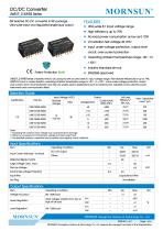 DC/DC Converter wide input UWE_S-3WR3 - 1