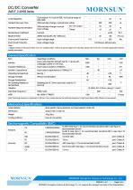 DC/DC Converter wide input UWE_S-3WR3 - 2