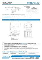 DC/DC Converter wide input UWE_S-3WR3 - 4