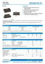 FC-CxxD / 40-160vdc input / Target dc/dc converter - 1