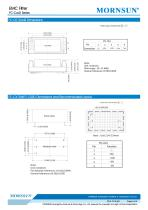 FC-CxxD / 40-160vdc input / Target dc/dc converter - 4