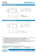 FC-CxxD / 40-160vdc input / Target dc/dc converter - 5