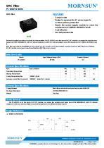 FC-L01DV1 / EMC Filter / ±1/±2 Surge Voltage (KV) / For AC/DC