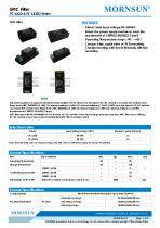 FC-LX1D / EMC filter / ±2/±4 KV Surge Voltage / for ac/dc - 1