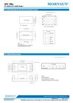 FC-LX1D / EMC filter / ±2/±4 KV Surge Voltage / for ac/dc - 5