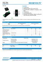 FI-B03D / EMI Filter - 1