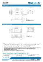 FI-B03D / EMI Filter - 3