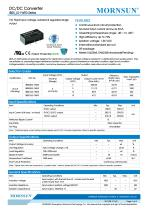 IB05_LS-1WR3 Series--1W, Fixed input voltage, isolated & regulated single output - 1