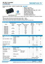 IF_XT-1WR2 / 1watt DC-DC converter / single output /  regulated - 1