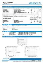 IF_XT-1WR2 / 1watt DC-DC converter / single output /  regulated - 2