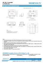 IF_XT-1WR2 / 1watt DC-DC converter / single output /  regulated - 4