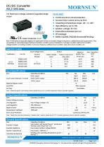 IF05_S-1WR3 Series--1W, Fixed input voltage, isolated & regulated single output - 1